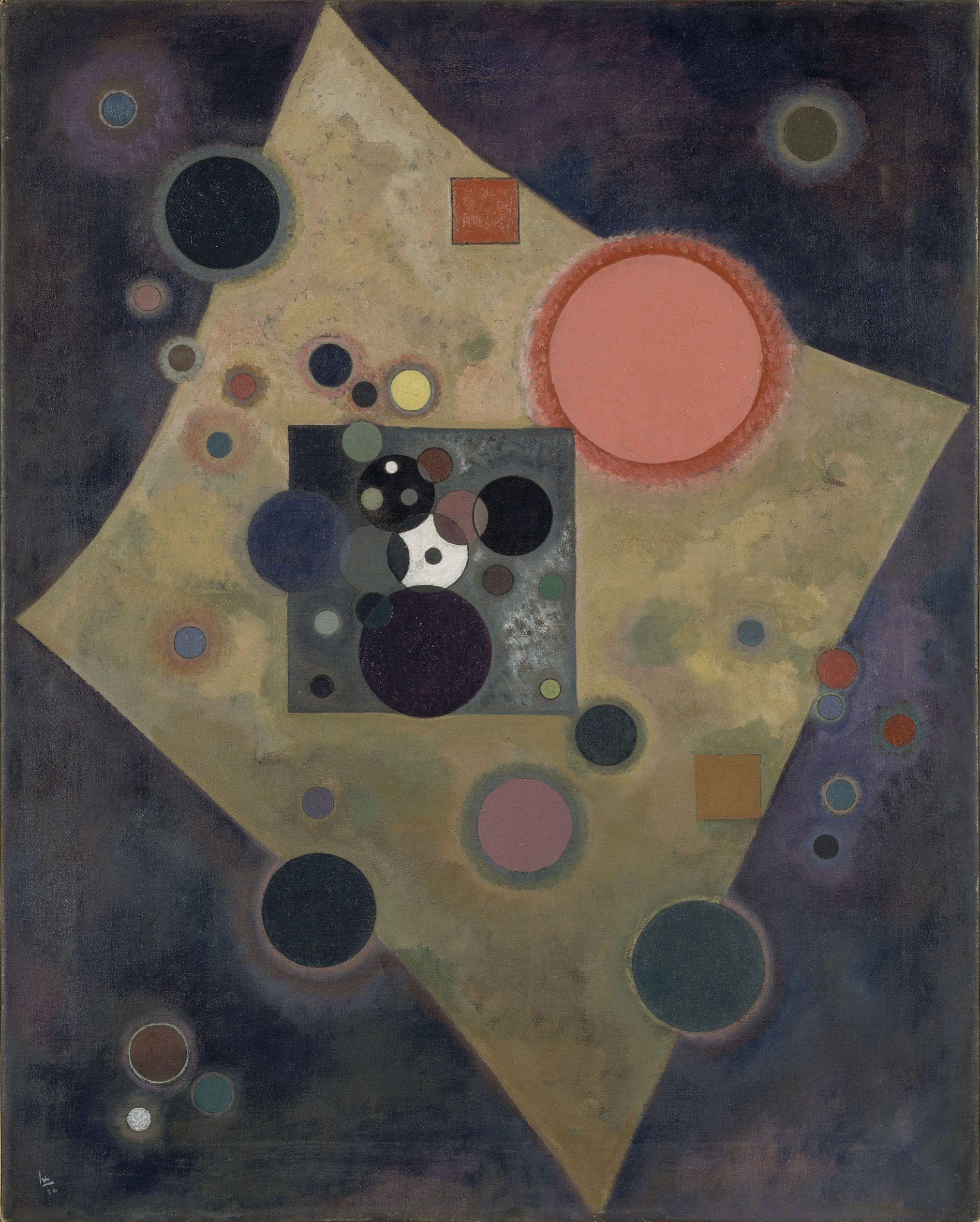 Più di 80 opere di Kandinsky dal Centre Pompidou in mostra a Palazzo Reale, fino al 27 aprile