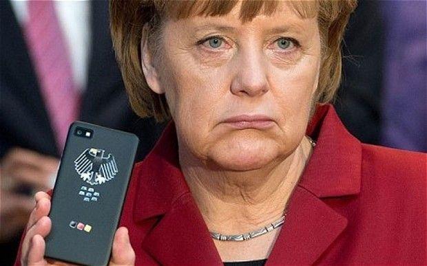 Angela Merkel Blackberry Z10