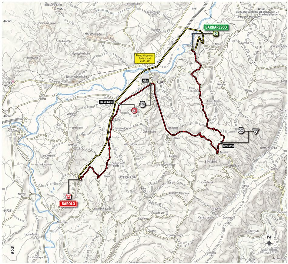 Giro d Italia 2014 tappa 12 Barbaresco Barolo