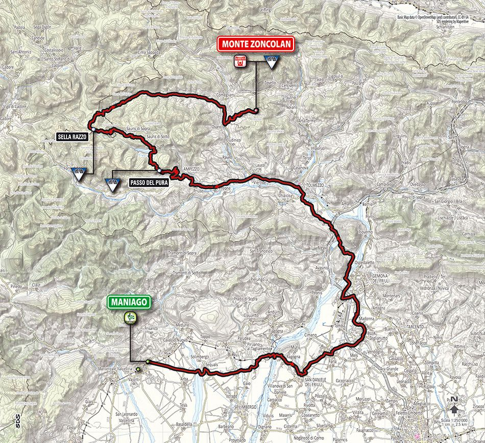 Giro d Italia 2014 tappa 20 Maniago Monte Zoncolan
