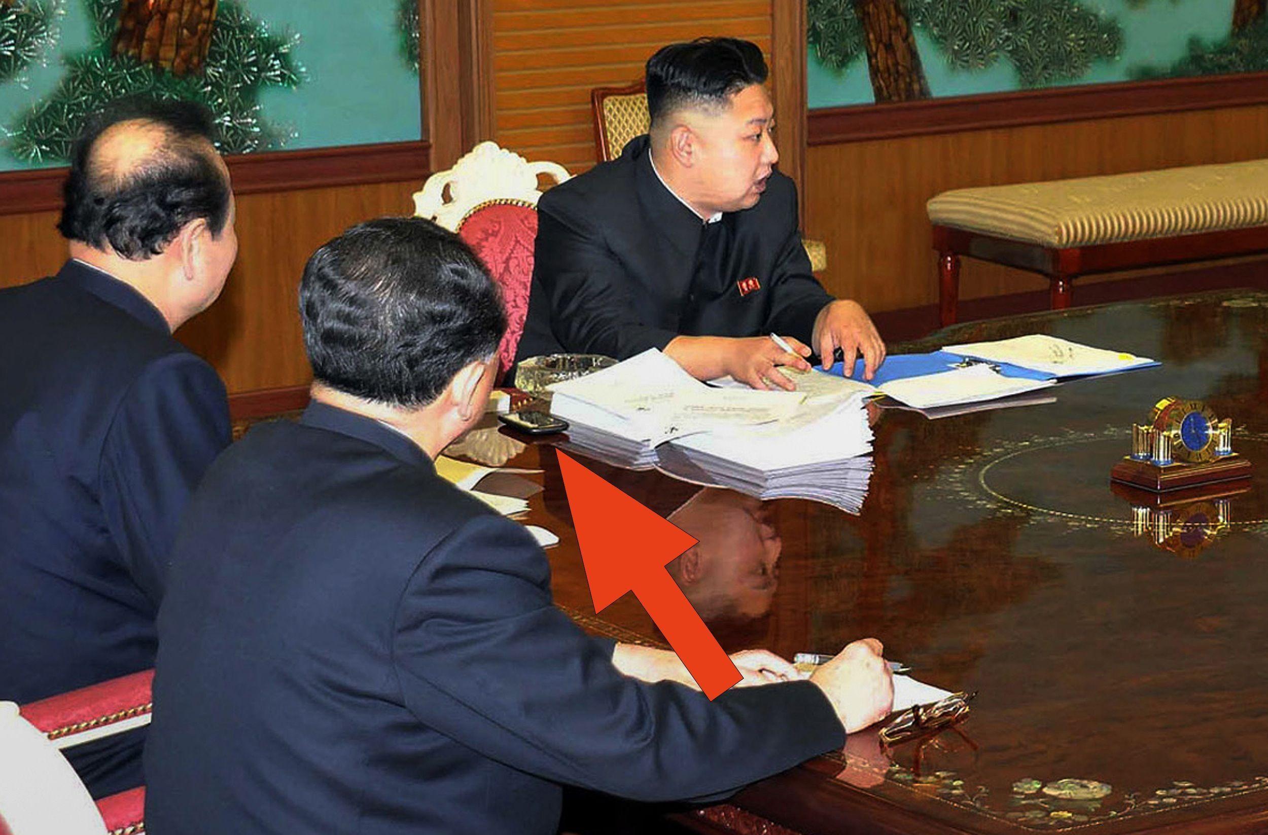 Kim Jong Un HTC Butterfly