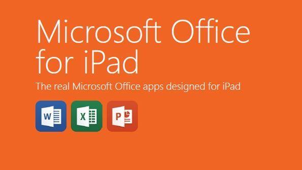 Office per iPad ufficiale, con quattro anni di ritardo