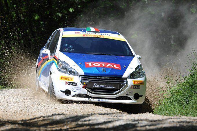 Peugeot alla Mille Miglia 2014: il Rally Junior Team trionfa