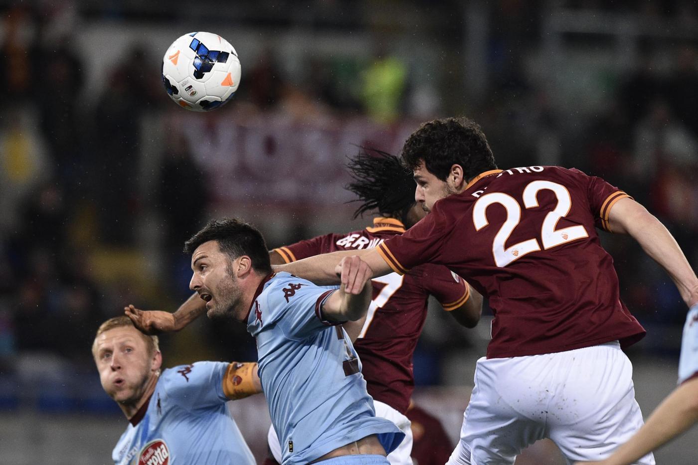 Roma vs Toro 2-1: gol Mondiali con Destro, Immobile e Florenzi
