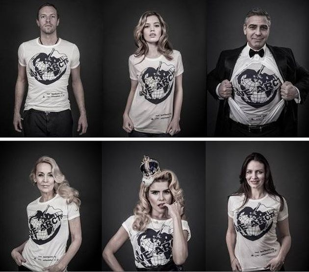 Save the Arctic: la campagna di Greenpeace con i vip da Vivienne Westwood a George Clooney