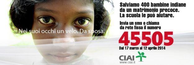 Spose bambine in India: la campagna CIAI contro questa crudeltà