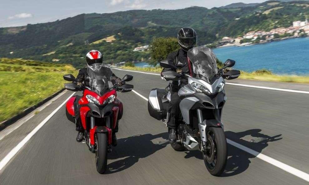 Ducati Multistrada D-Air: l'airbag si aziona in wireless