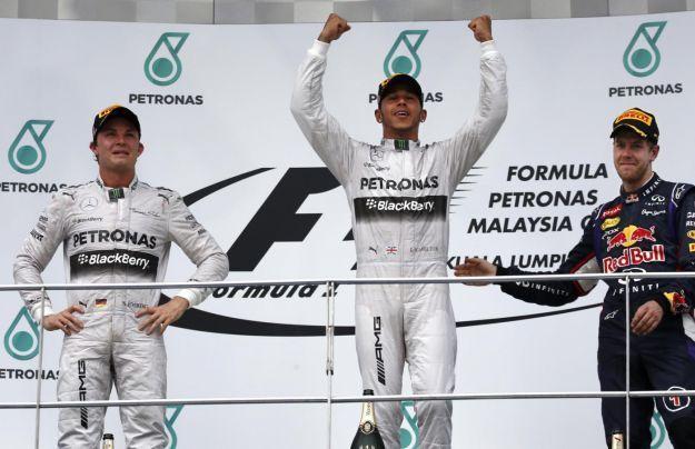 F1 GP Malesia 2014: dominano le Mercedes, Alonso solo quarto a Sepang