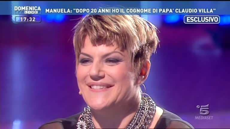 Manuela Villa a Domenica Live: nuovo e velenoso scontro con Patrizia Baldi