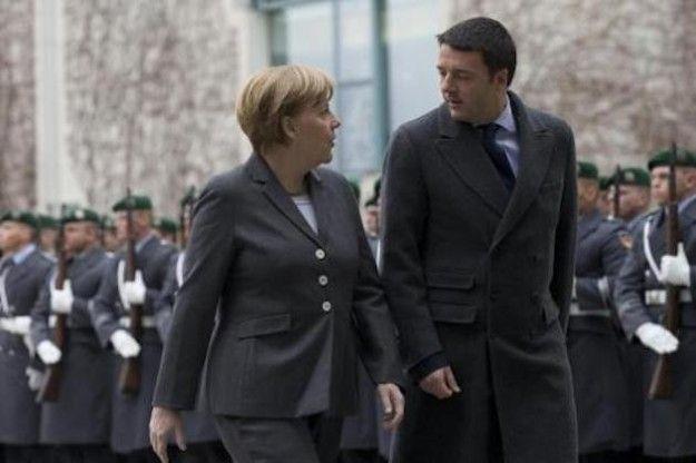 Renzi-Merkel, colpo di fulmine fra il premier e la cancelliera