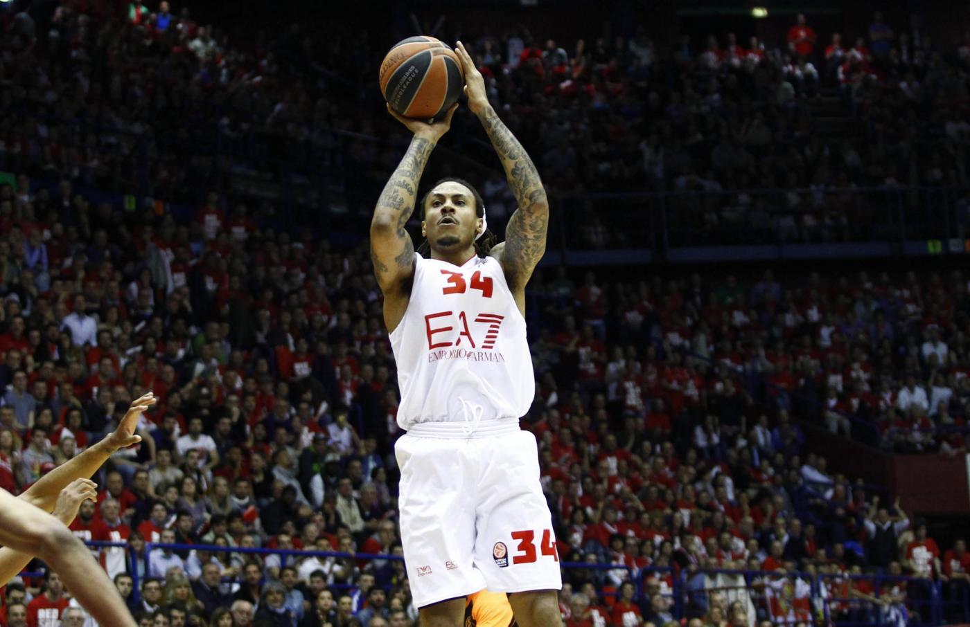 Basket, Eurolega: Armani pareggia i conti in gara-2