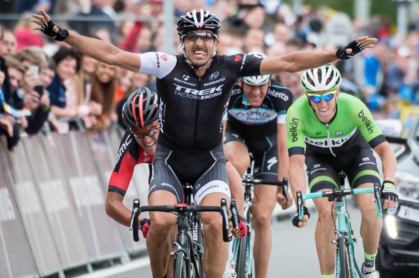 Giro delle Fiandre 2014: tris di Cancellara
