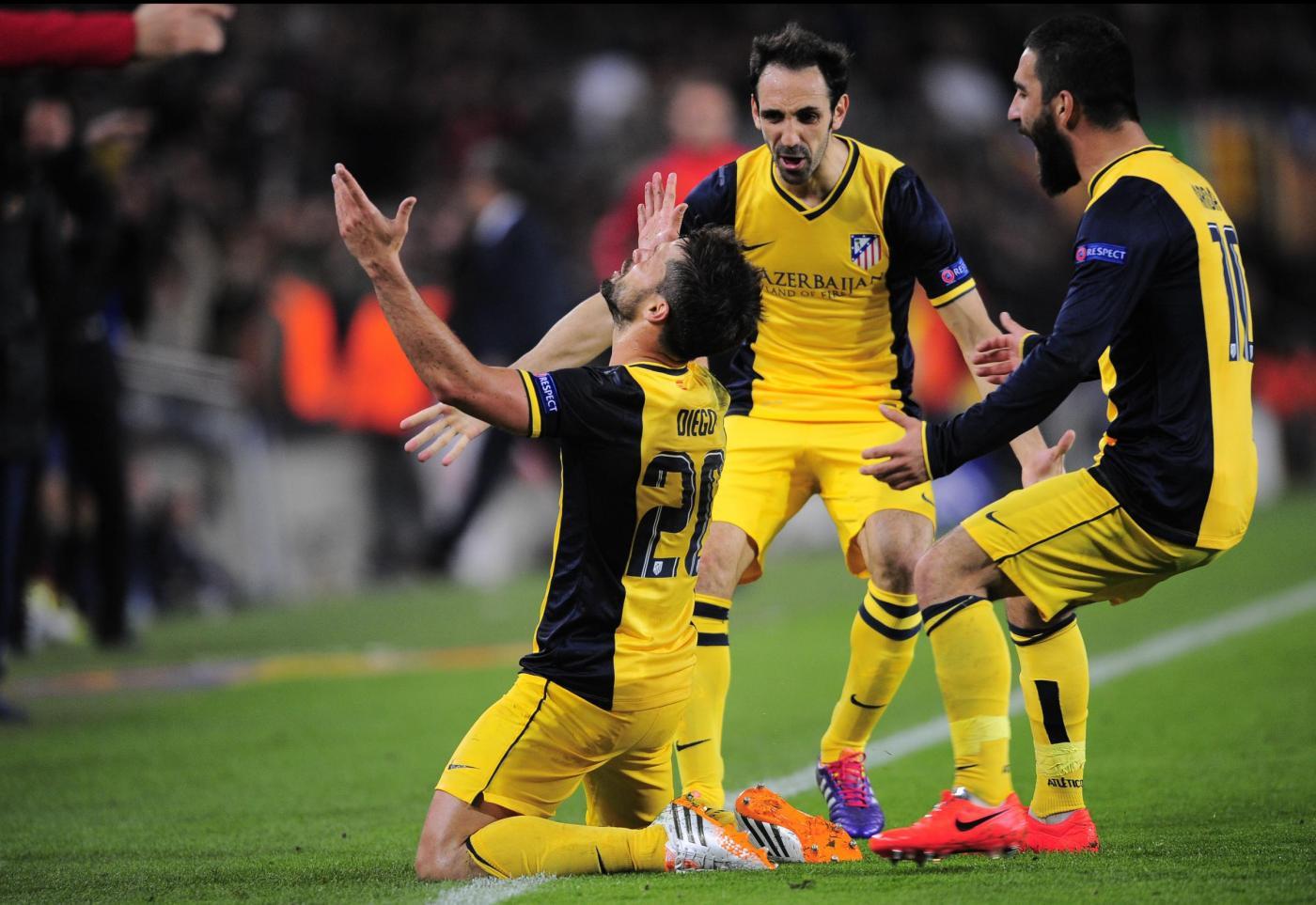 Champions League 2013/14: 1-1 per Manchester UTD vs Bayern e Barcellona vs Atletico Madrid