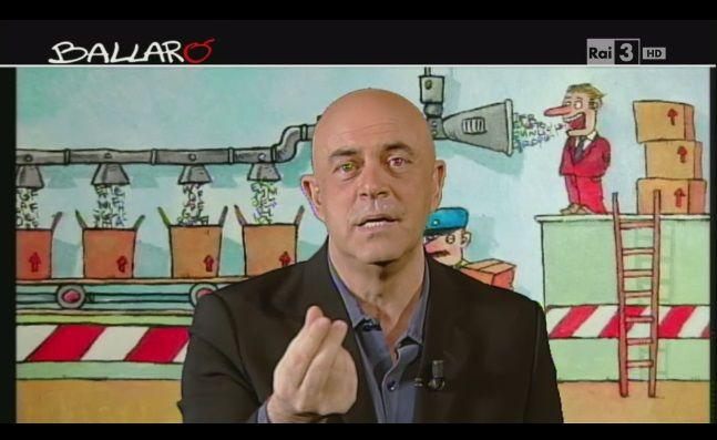 Crozza a Ballarò: dall'imitazione di Marchionne alla nuova campagna di Berlusconi