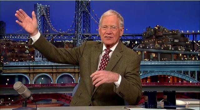 David Letterman annuncia il pensionamento nel 2015
