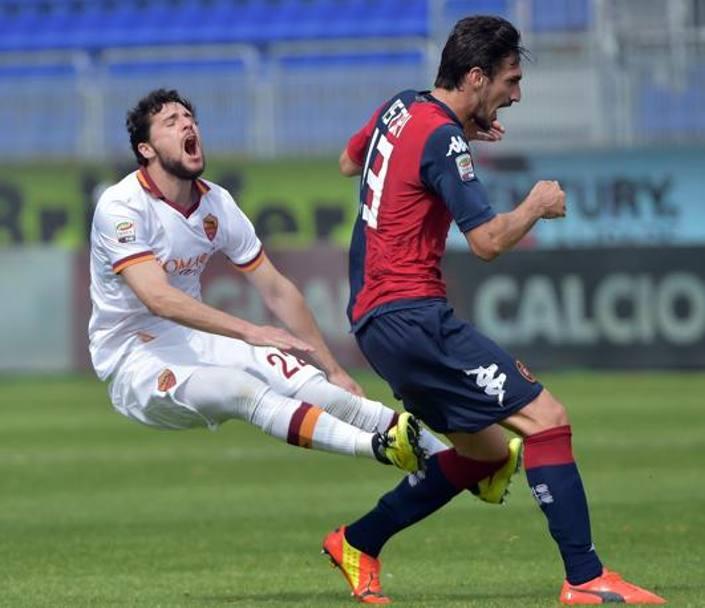 Squalifica Destro: 4 giornate al giocatore della Roma per la manata ad Astori