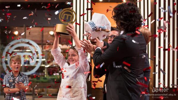Junior Masterchef Italia: Emanuela è la vincitrice della prima edizione
