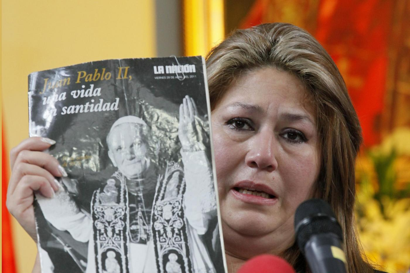 Chi è Floribeth Mora Diaz, la donna miracolata da Wojtyla?