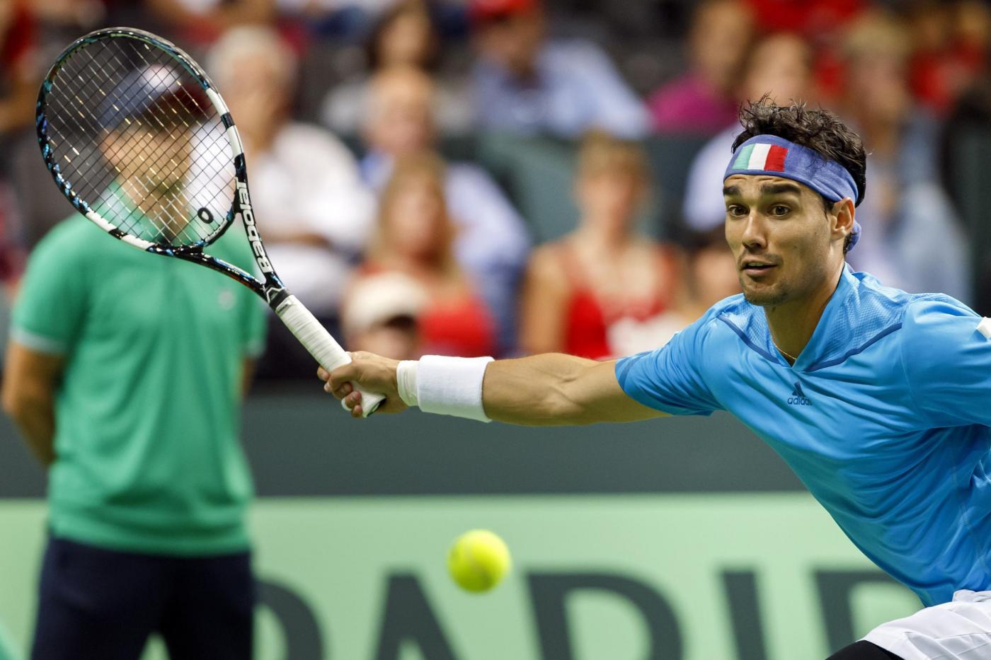 Coppa Davis, Italia sconfitta dalla Svizzera in semifinale