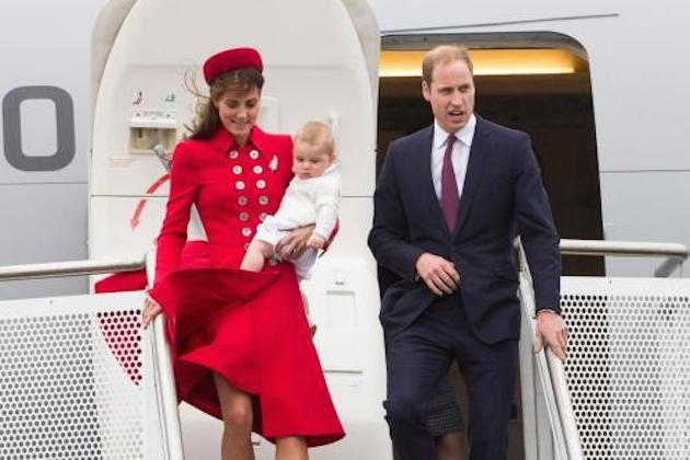 Kate Middleton e il principe William: con il piccolo George viaggio in Nuova Zelanda