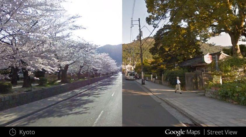 Google Maps ti fa viaggiare nel tempo