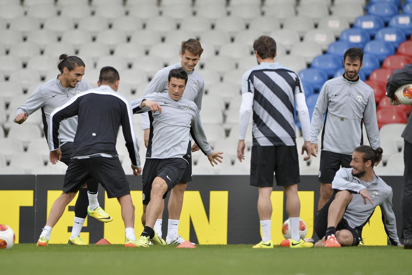 Lione Juventus probabili formazioni