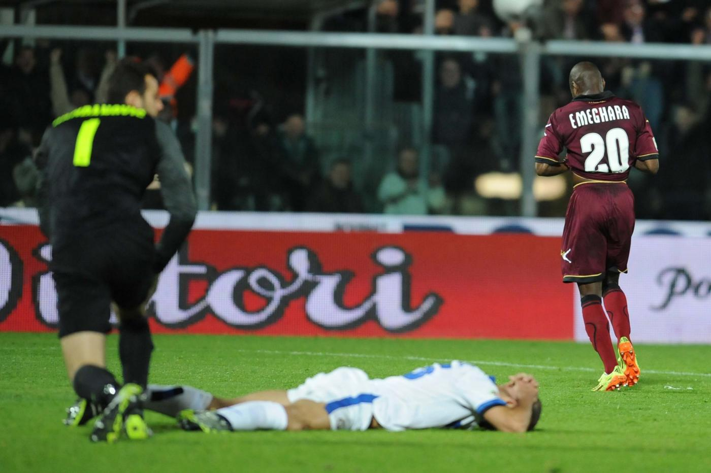 Livorno vs Inter 2-2: sciagurato errore di Guarin