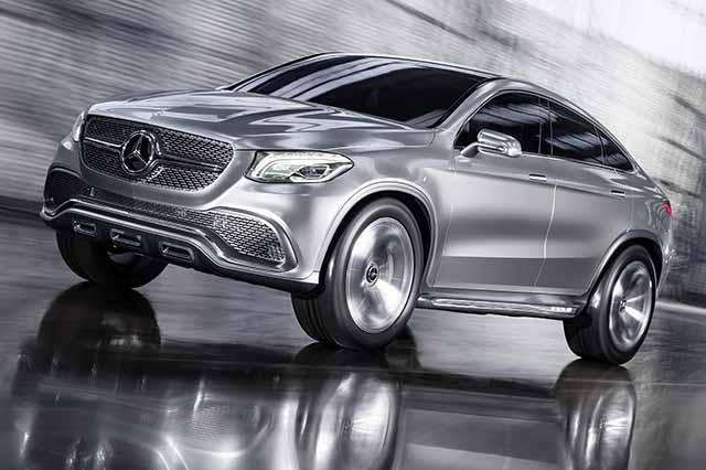Mercedes Concept Coupé SUV 2014