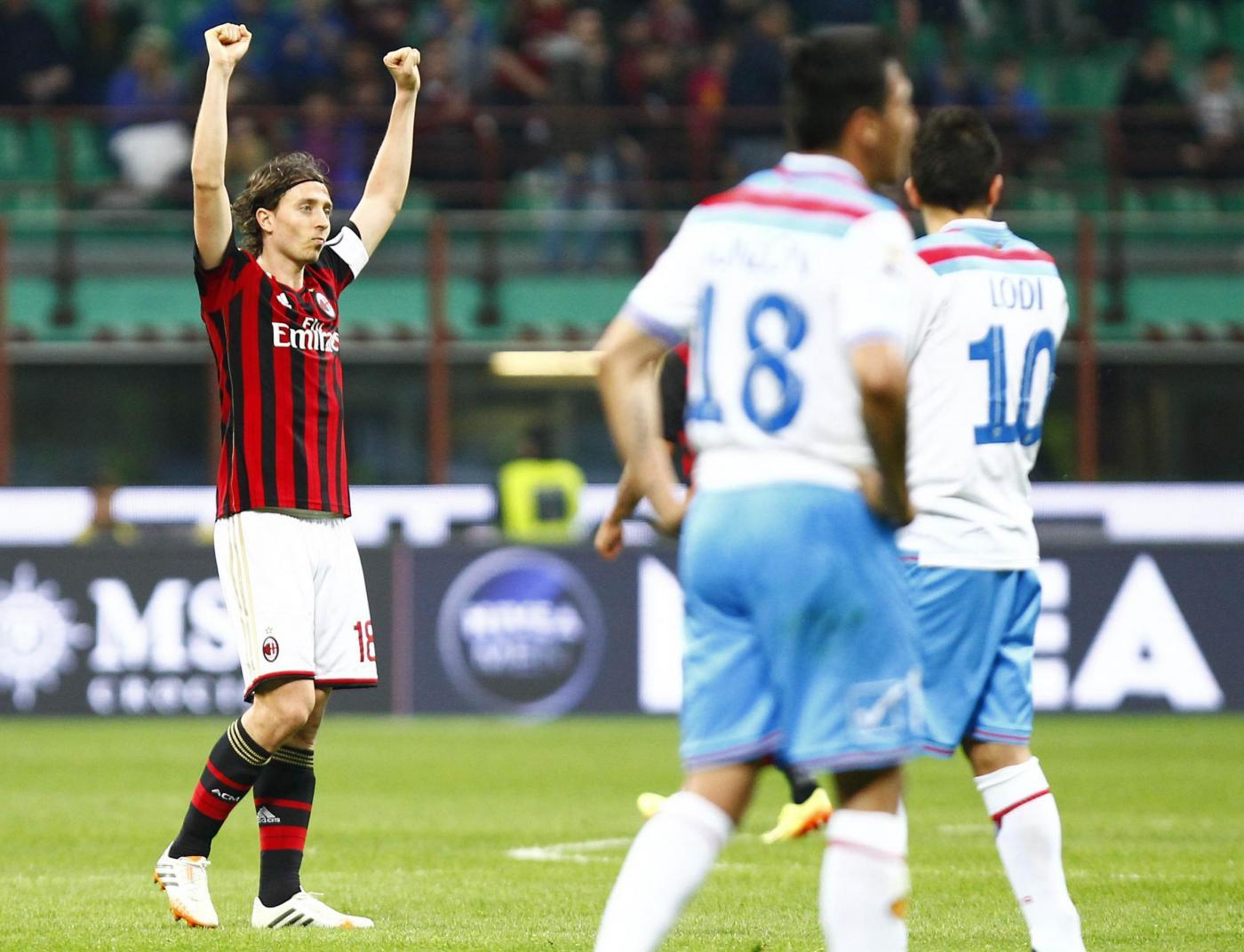 Milan vs Catania 1-0: rossoneri a -3 dall'Europa