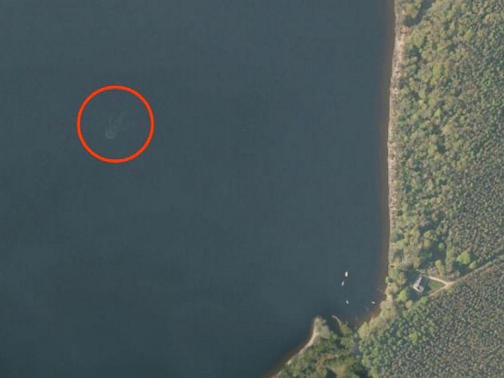 Mostro di LochNess su Apple Maps