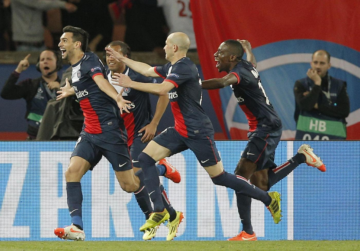 Champions League 2013/14: Real e PSG ipotecano la qualificazione