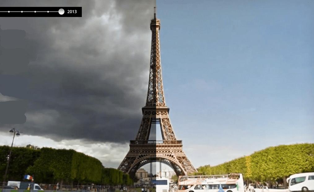 Parigi viaggio nel tempo sulle Google Maps