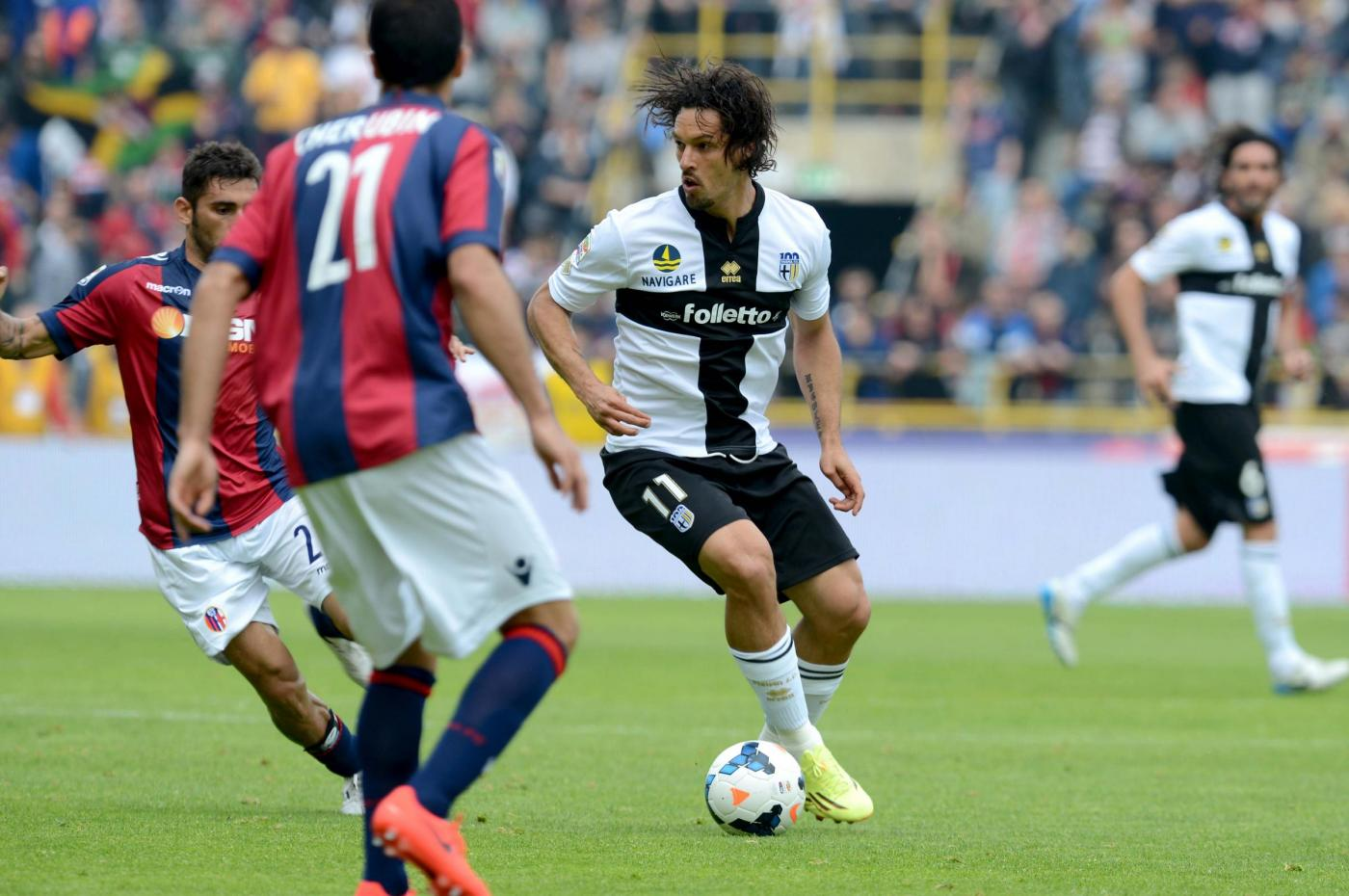 Parma Bologna 33esima