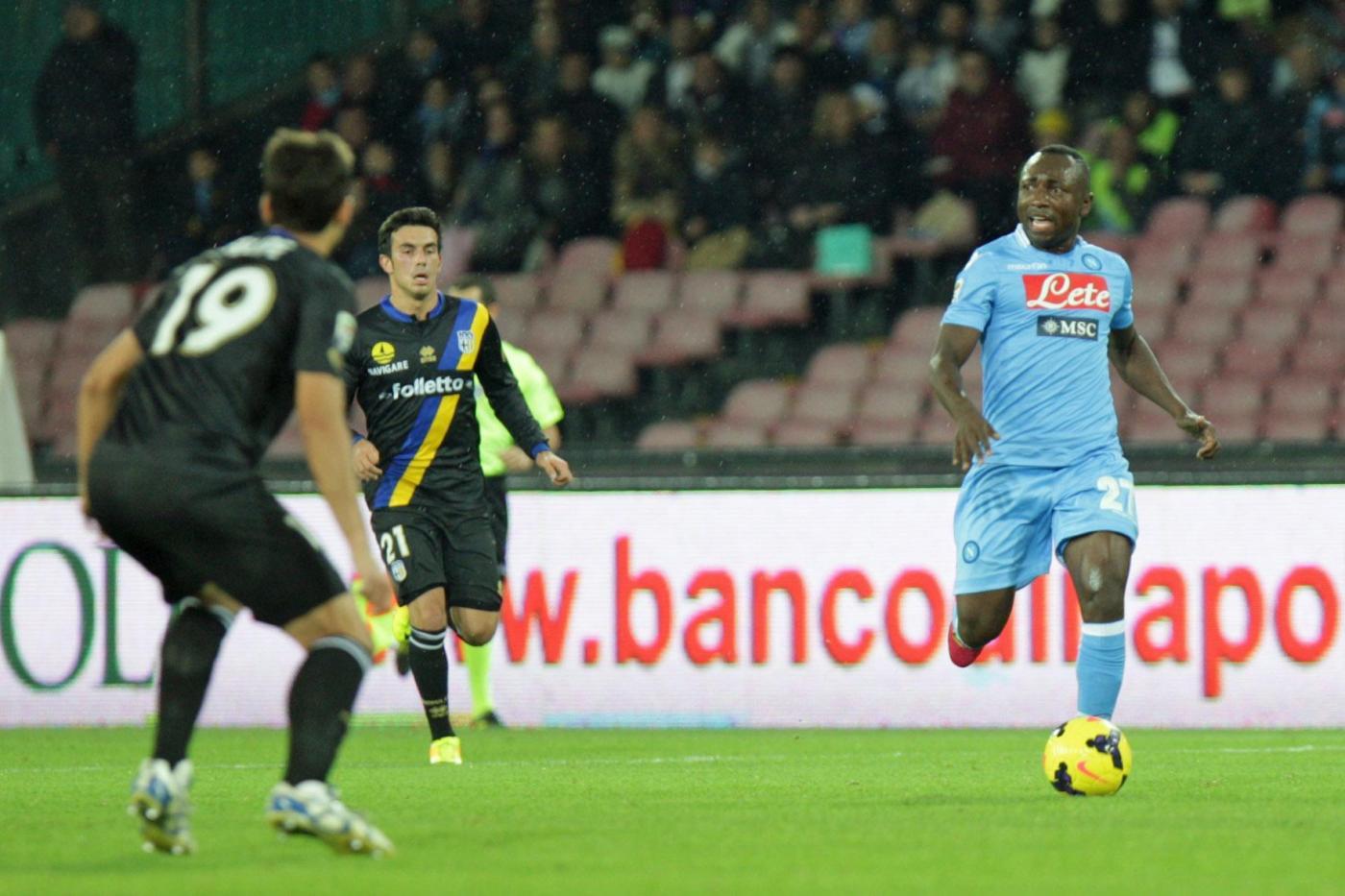 Parma vs Napoli 1-0: gialloblu al quinto posto