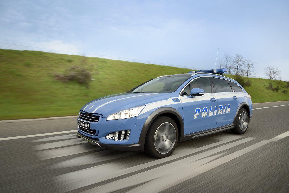 Peugeot 508 RXH: la nuova volante della polizia stradale