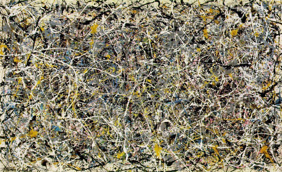 Mostra di Pollock a Firenze, l'omaggio-confronto con Michelangelo