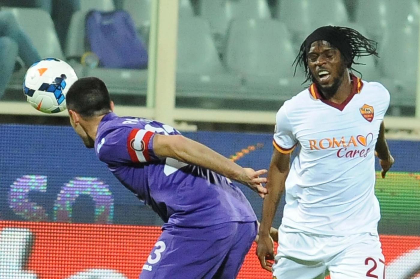 Fiorentina vs Roma 0-1: Nainggolan decisivo