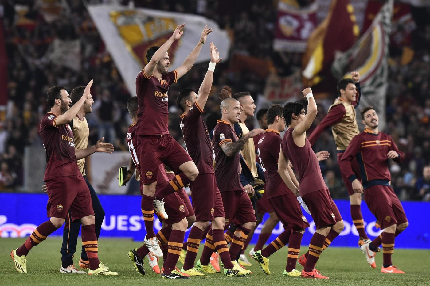 Roma batte Milan 35esima giornata