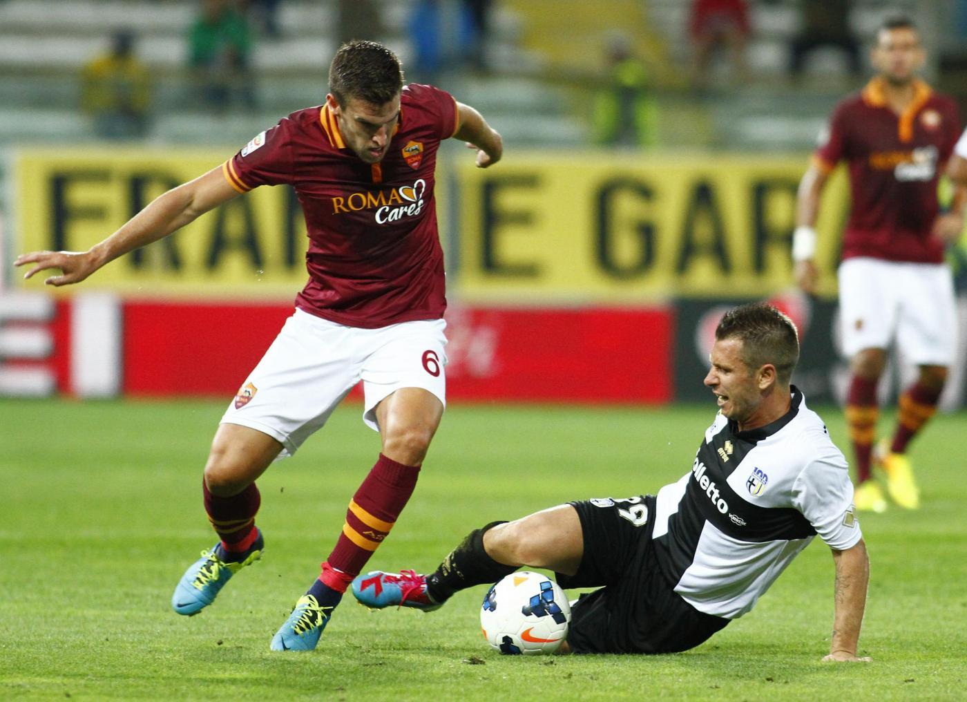 Roma vs Parma 4-2: giallorossi accorciano sulla Juventus