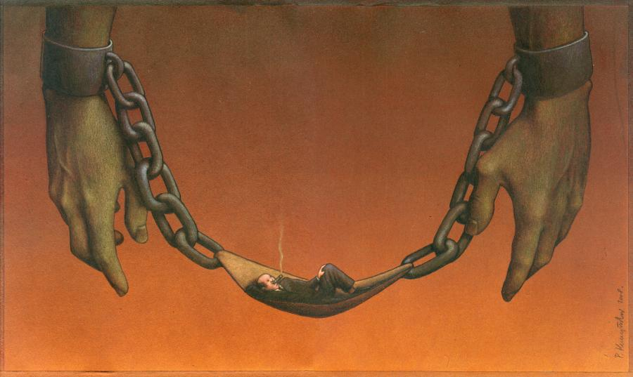 Pawel Kuczynski e le illustrazioni satiriche: quando l'ironia diventa arte
