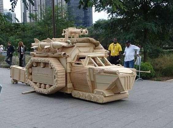 I carri armati più pazzi del mondo