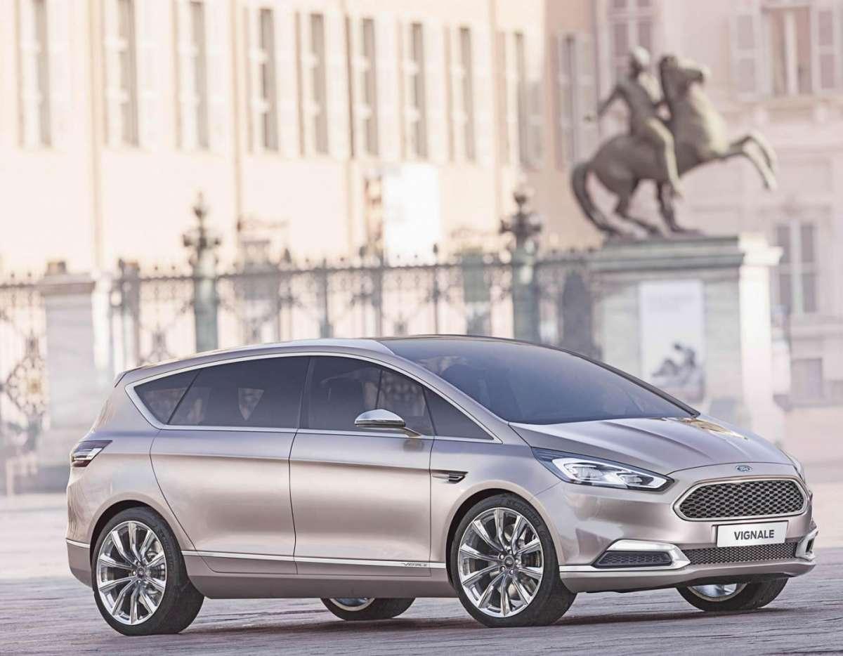 Ford S-Max Vignale Concept, lussuosa ed elegante