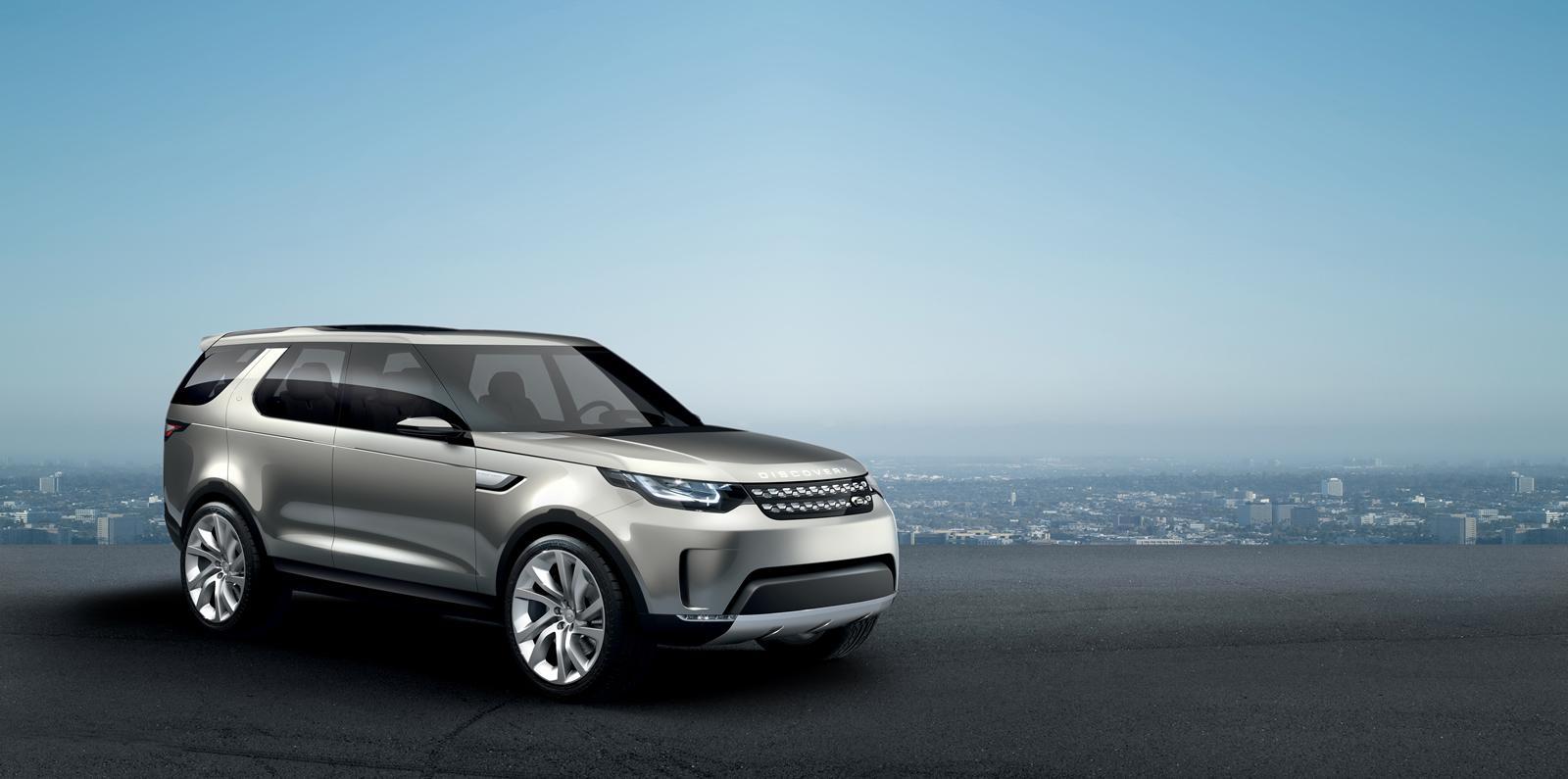 Land Rover Discovery Vision Concept: dati tecnici e interni