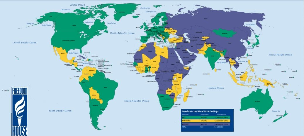 Paesi più liberi al mondo