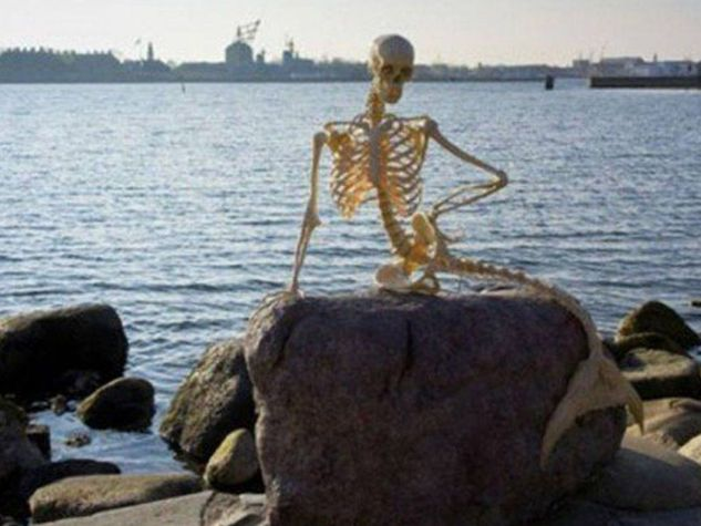 sirenetta scheletro