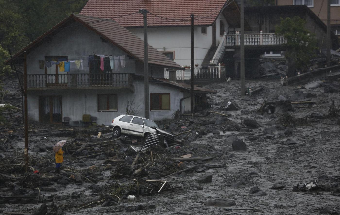 Inondazione Bosnia, Serbia, Croazia: i Balcani in ginocchio