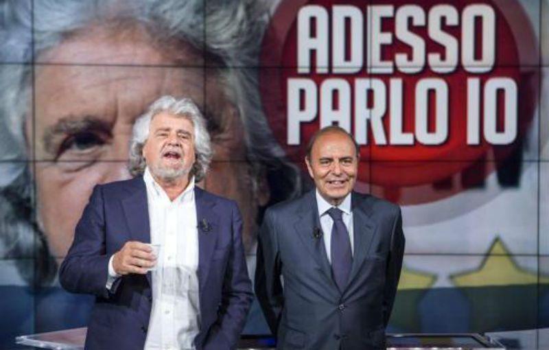Beppe Grillo a Porta a Porta: da Bruno Vespa il ritorno in Rai dopo 21 anni