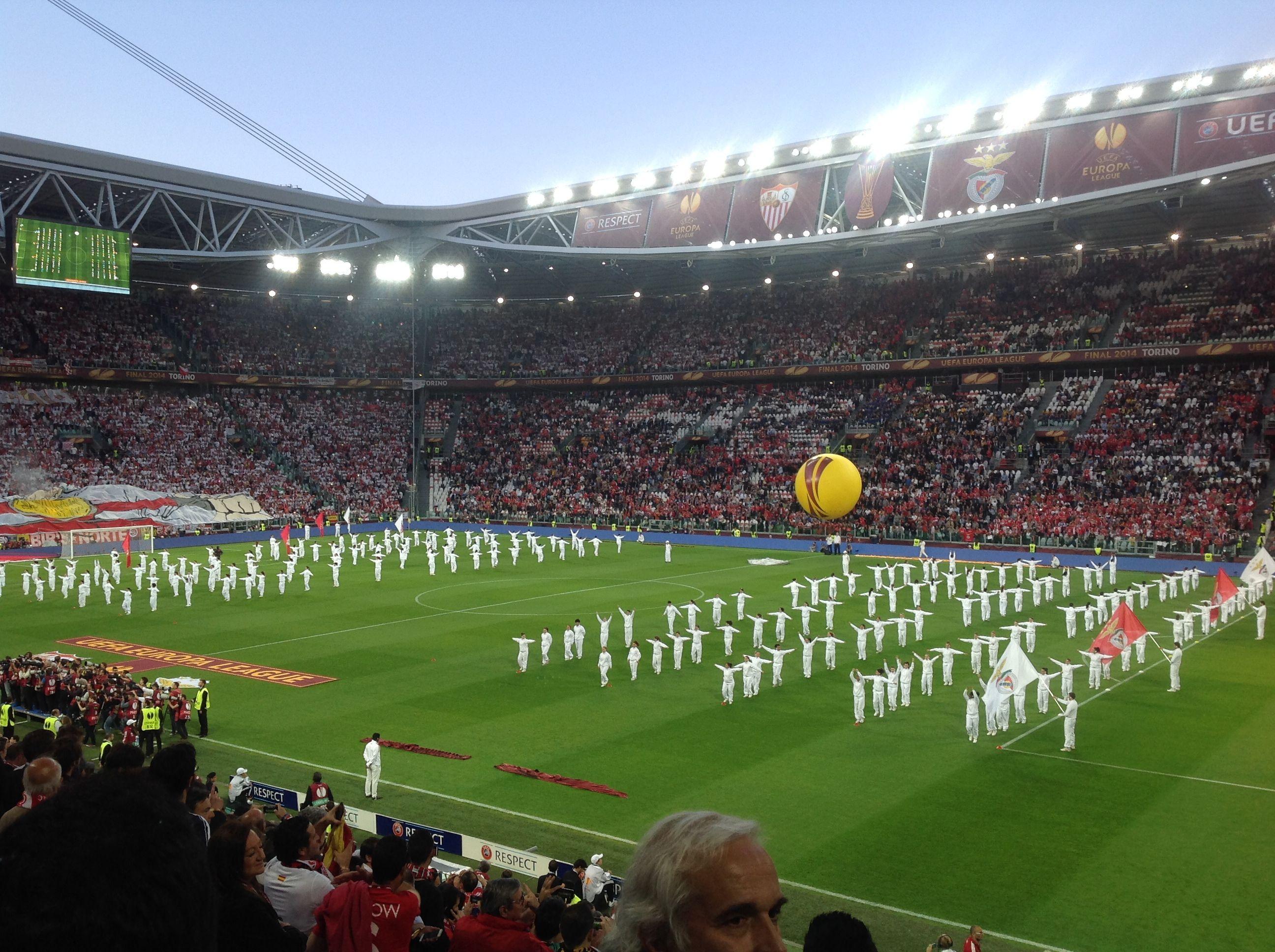 Cerimonia dapertura finale europa league 2014