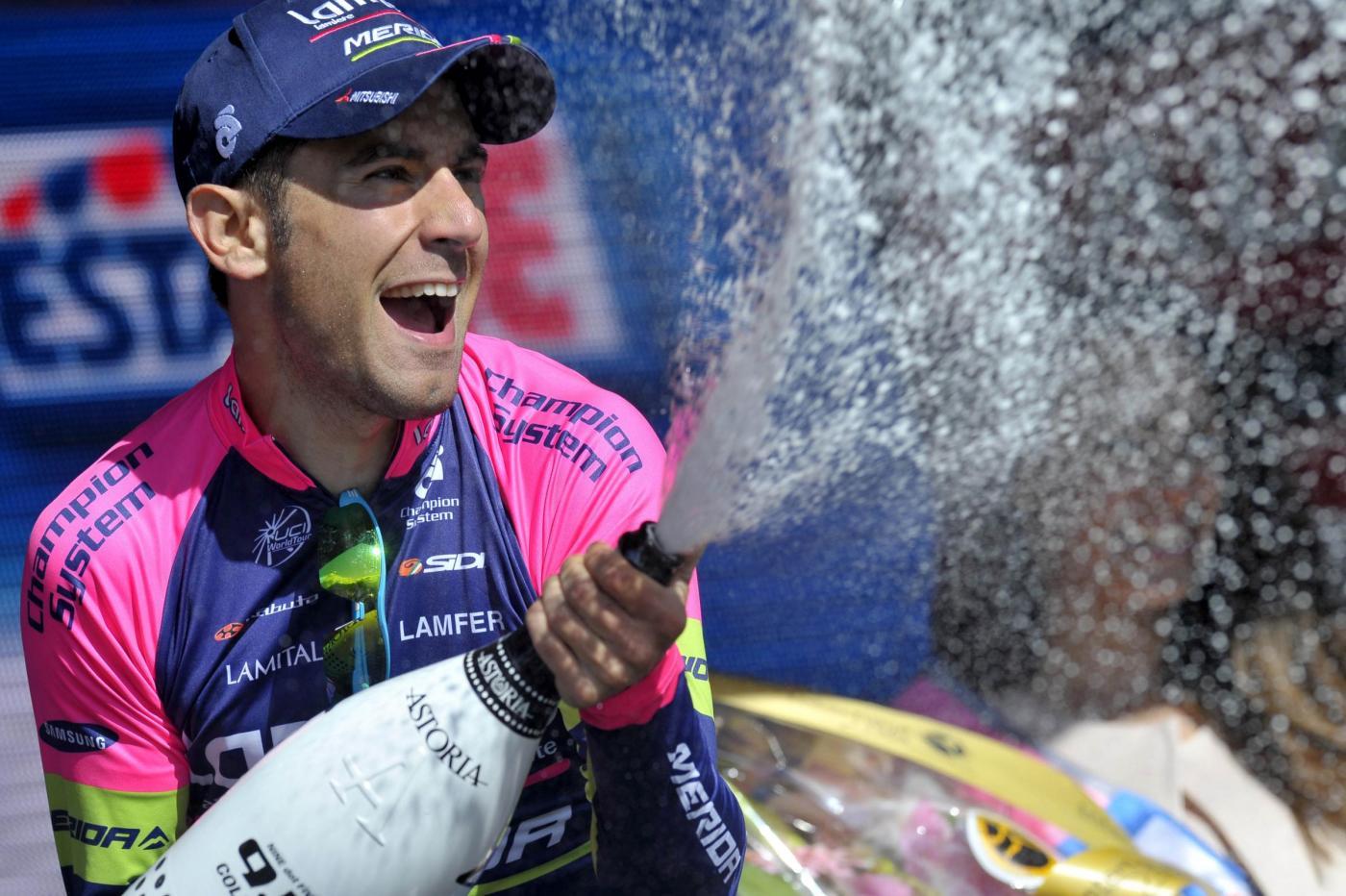 Giro d'Italia 2014: Diego Ulissi vince la tappa dedicata a Pantani