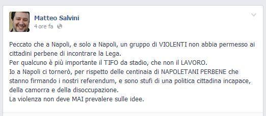 Facebook Salvini